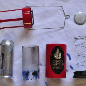 蝋まみれになった『UCOキャンドルランタン』の掃除 シンプルな道具はメンテも簡単