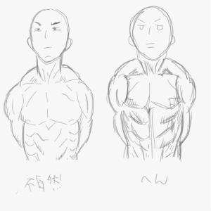 筋肉を描けるようになりたい4
