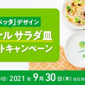サラダクラブ 「キャベッタ」デザイン オリジナル サラダ皿 プレゼントキャンペーン