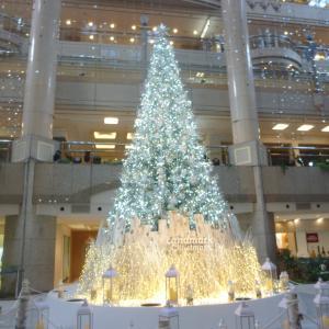 【雪降るクリスマス】こどもが好きなお店いっぱいのランドマーク。雪まで降ったらママは魔法使い