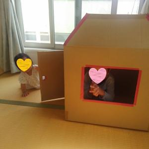 【簡単ダンボールハウス】作るのも収納も苦労なし!ひと箱でできる、夢のおうち
