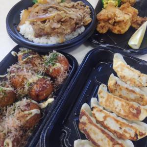 【和食さとのテイクアウト】お弁当3品「牛うま煮・天丼・唐揚」399円!毎日3食作るしんどさに救世主。