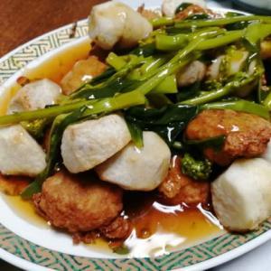 里芋と豚🐷団子の餡掛けオイスターソース