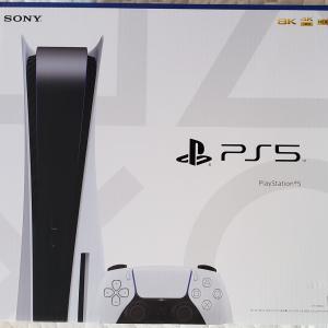 突然PS5が降ってきた💦
