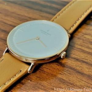 【クーポンあり】ノードグリーンの腕時計はシンプルで飽きがこないデザイン!
