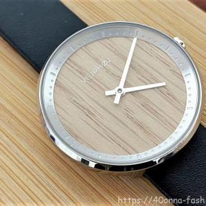 VEJRHOJ(ヴェアホイ)のシンプルな木製腕時計