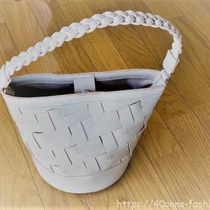 【フェリシモ】くぼっちとコラボ バケツ型ショルダーメッシュバッグのレビュー