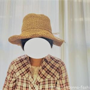 シンプルでかわいい麦わら帽子のレビュー