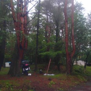 北海道 キャンプツーリング(草津で?)予行練習 3日目