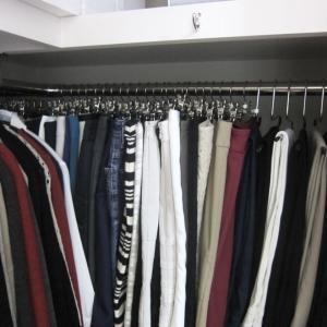 【クローゼット公開】衣がえが不要なシステム&おふとんの衣がえもしません