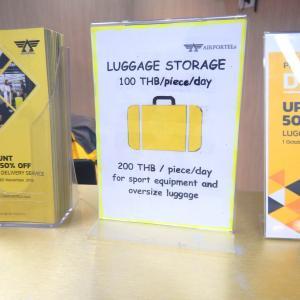 大きな荷物はAirportelsに託し、バンコクの空港から観光地やショッピングへ直行しよう!