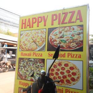 嘘か誠か……ハッピー・ピザの店で耳にしたシェムリアップの〇〇ルール!