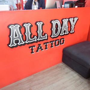 バンコクのAll Day Tatooはスキルも清潔感も申し分なし!