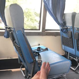ロンクルア市場からバンコクまで約6時間半のバスの旅!