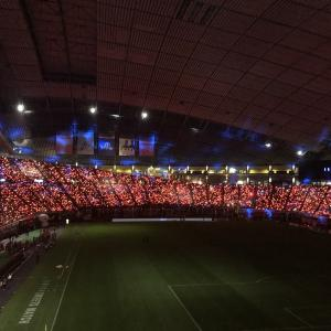 第10節5.4 vsヴィッセル神戸レポ 赤LED札幌ドーム