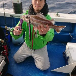 12月11日(水)中深海ジギングでアラッ!?