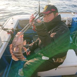 1月3日(金)【清和丸III】中深海高級&太刀魚