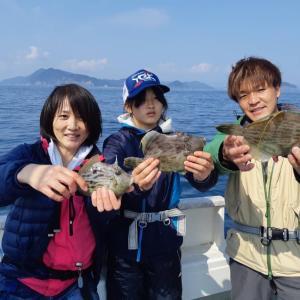 4月4日(土)【清和丸Ⅶ】カワハギ狙い