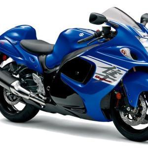 スズキハヤブサ!猛禽類最速の名を冠した世界最速のバイク!2020年に北米で発売を開始