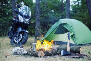 バイクでのキャンプツーリング!キャンプ場を選ぶポイント5選!