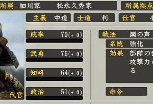 歴史人物語り#95 梟雄・松永久秀の弟、松永長頼は兄より先に三好家中で出世を果たしたにも関わらず、早めに戦死したせいか兄の陰に隠れがち