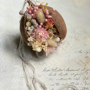ブッダナッツの花飾り