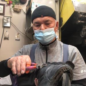 MBTの靴底全交換修理完了-無事お届けできました