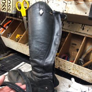 乗馬靴の修理-79  驚き感謝のメールにケ・セラ・セラ。