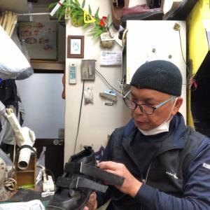 乗馬靴の修理-80  持ち合わせた技は、将来の糧となる