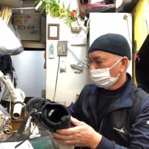 スニーカーの調整修理-まさに、人生の相棒やんか、なあ。