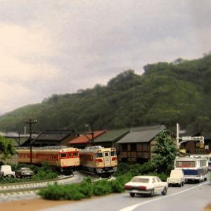 【鉄道模型】1970年代の山間の路線