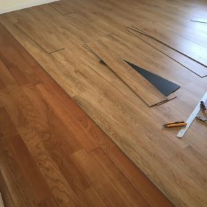 DIY 床を張った話(その4)2Fも頑張る