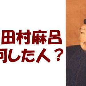 坂上田村麻呂ってどんな人?わかりやすく簡単にまとめてみました