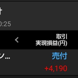 1357日経ダブルインバースを売却