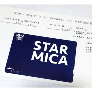 2975スター・マイカから株主優待と配当金