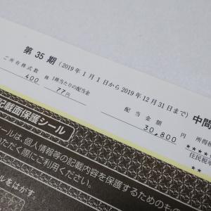 2914日本たばこ産業から配当金
