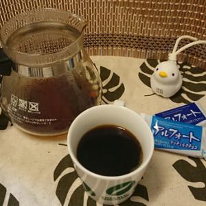 今回のコーヒーはマンデリンG1(中煎り)~お茶請けはアルフォート~