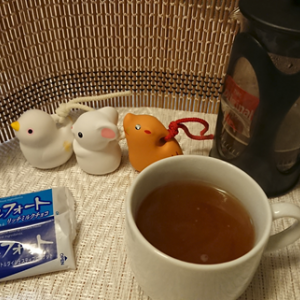アレンジコーヒー挑戦してみたり、友人にコーヒー送ってみたり