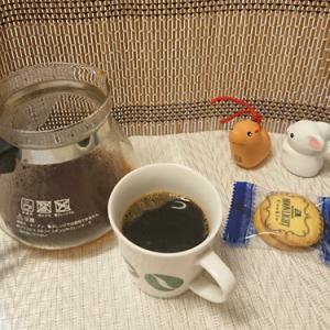 今回のコーヒーはブラジル(中煎り)~お茶請けはドーナツ~