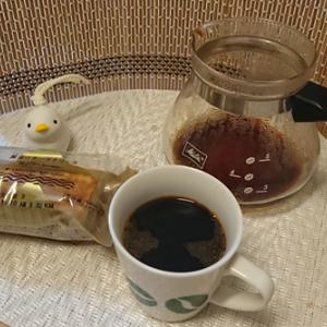 今回のコーヒーはブラジル(中煎り)~お茶請けはチーズテリーヌ~