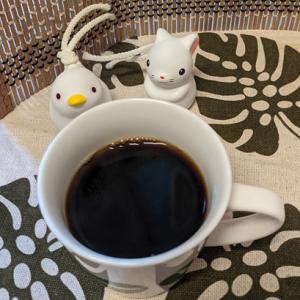 今回のコーヒーはグアテマラ(深煎り)~お茶請けはクレープ~