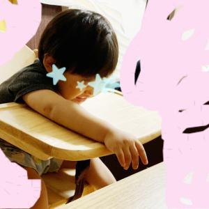 2歳のお祝いと寝かしつけに頭を抱え気味なワシ