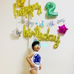 祝2歳!!お祝い後編と振り返り
