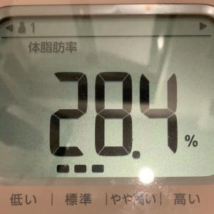 奇跡の体脂肪率(`✧ω✧´)