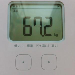 8月のダイエットまとめ……-0.5kg!!!