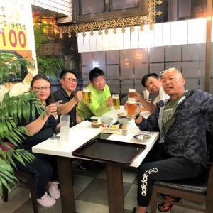 初日が終わって 2019沖縄遠征Part2 香港フィッシング