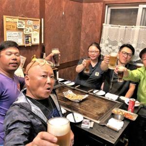 打ち上げ 2019沖縄遠征Part2 香港フィッシング