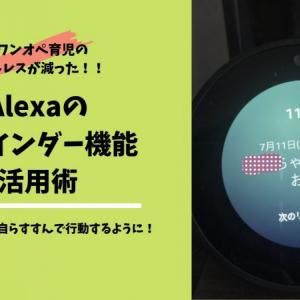 Alexa(Amazon echo)のリマインダー機能活用術|子どもたちが宿題やお手伝いなどを自ら進んでやってくれるようになり、ワンオペ育児のイライラ解消に!