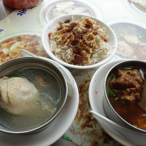 つゆだく鶏肉飯が本当に美味しい!!蛤仔鶏湯とセットで大満足!!