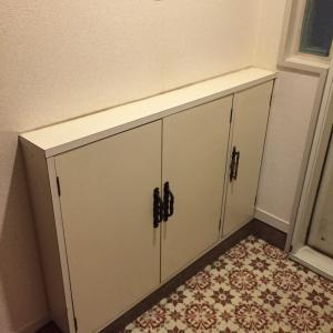 築45年!おばあちゃんマンションの玄関をお化粧したよ♪